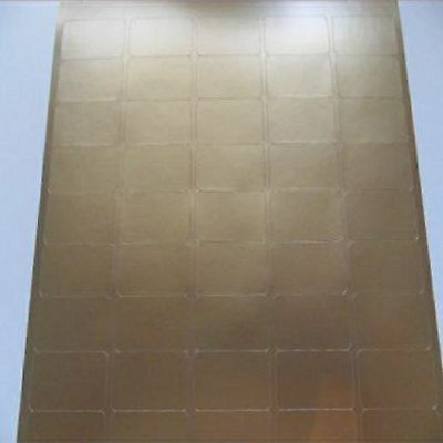 Blank Self Adhesive Labels ~ GOLD ~ Compatible L7651 ~ 65 Labels per A4 Sheet