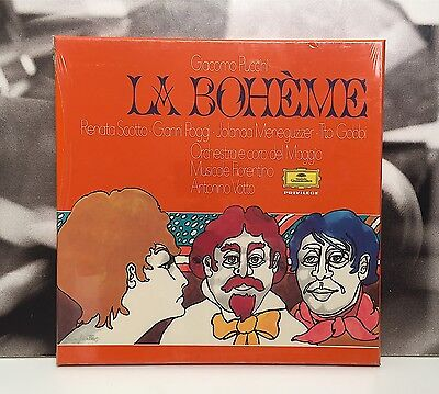 Giacomo Puccini - La Boheme / Renata Scotto - Box 2 Lp New Sealed