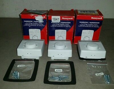 Honeywell H8908B lot of 3 Humidistat 1841 kw