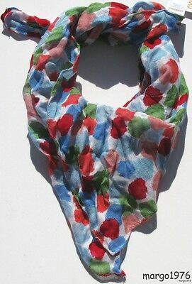 Gymboree Burst of Spring Watercolor Dot Scarf One Size NWT