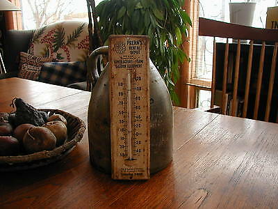 Wonderful Vintage Prehn's Rental Depot Farm Garden Thermometer, Sign