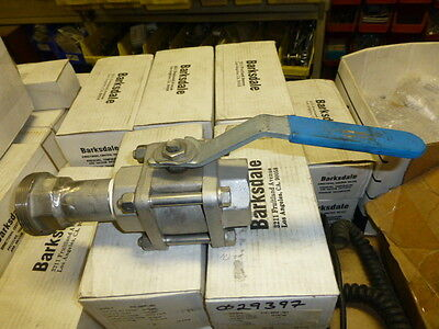 "New 1-3/4"" Ss Ball  Valve       No Reserve"