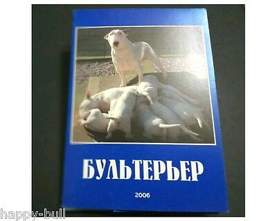 Bull terrier Сards kit Collectible rare only one copy