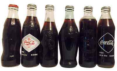 Six Coca Cola bottles 1915 Rare Vintage Full Mexican Coke Coca Cola Bottle