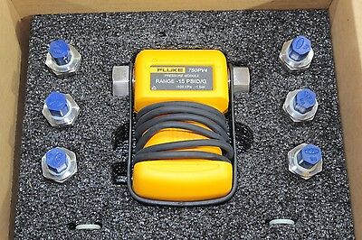 New Fluke 750PV4 Vacuum Pressure Process Calibrator Module -15 PSI / -1 bar
