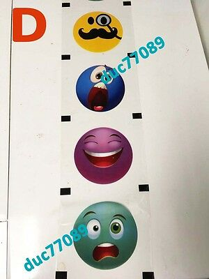 Boba tea sealing film (for 95mm PP cup) with emoticons. PATTERN D