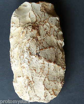 ▇ 13Cm -Mousterian Flint Axe Early Mid Paleolithic-200-300 K Bp -Basse Normandie