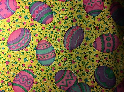Colorful Easter Eggs Stethoscope Cover -NEW- Handmade - FREE S&H