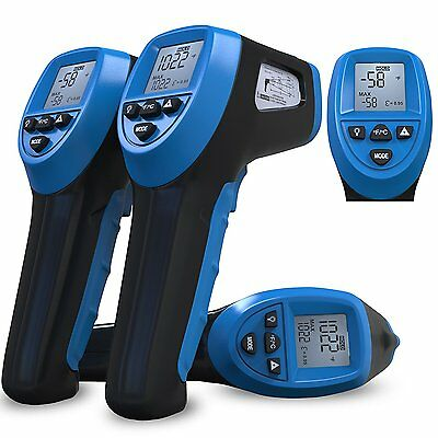 Temp Gun by Thermal Predator-Infrared IR Thermometer for Grilling, Risk Free to