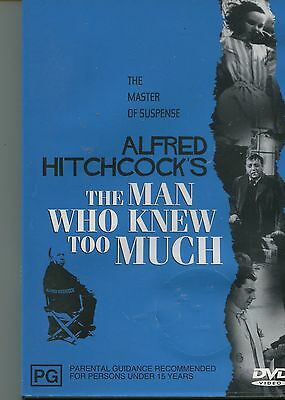 "Dvd:  Alfred Hitchcock's ""The Man Who Knew Too Much"""
