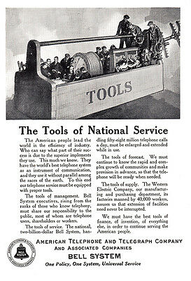 1925 Bell System: The Tools of National Service (5357)