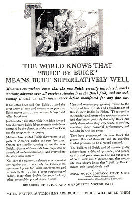1929 Buick: Means Built Superlatively Well (25680)