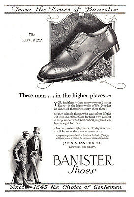 1925 Banister Shoes: These Men in the Higher Places, Renfrew (23555)
