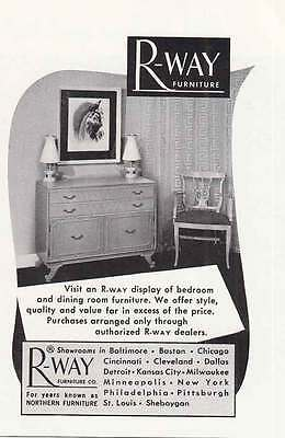 1950 Rway Furniture: Bedroom and Dining Room (20072)