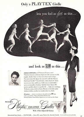 1952 Playtex Girdle: Feel as Free as This (23074)