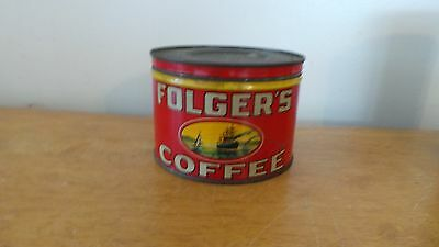 Vintage Folger's Golden Gate Coffee Tin/Can