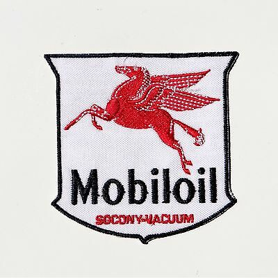 Mobil Oil Pegasus Iron-on Patch