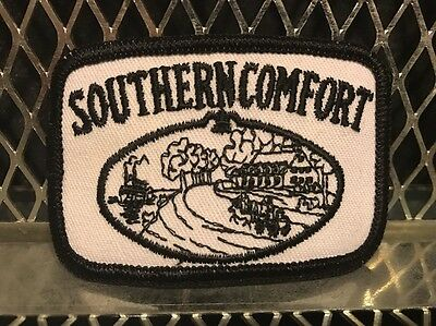 SOUTHERN COMFORT WHISKEY ~ VINTAGE ~ NEW ~ Patch for Hat Shirt Vest Unused