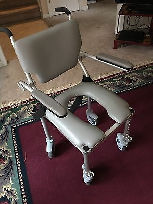 Byproduct Multichair 4000tx Roll In Shower Commode Chair Very Gently Preowned