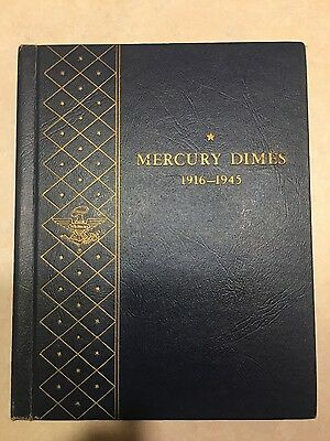 Complete Mercury Dime Collection INCLUDES 1916 D and 1942/1  BEST PRICE on EBAY!