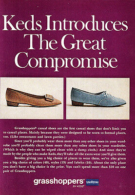 1968 Keds Grasshoppers: Great Compromise (24235)