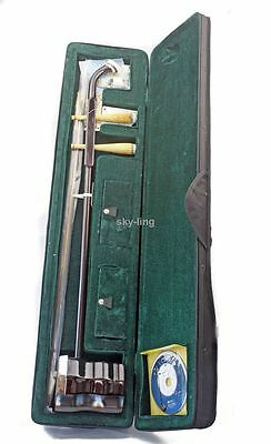 Music Instrument Oriental Violin python skin Erhu suzhou with hard case