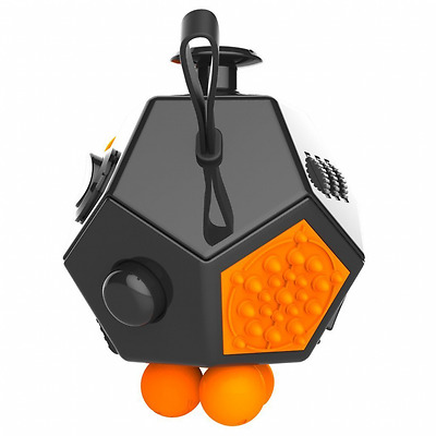 d5f8538704f4c FIDGET DODECAGON – 12 Sided Fidget Cube Relieves Stress and Anxiety