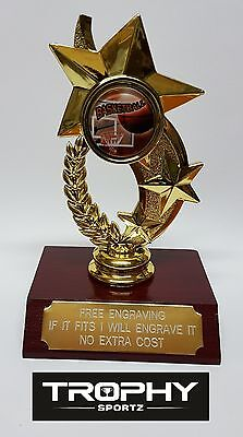 1 X BASKETBALL   TROPHY 120mm High, FREE ENGRAVING what ever you want