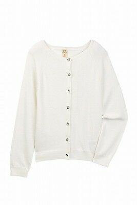 Harper Canyon NEW White Ivory Girls Size XL Button Down Cardigan Sweater $30 450