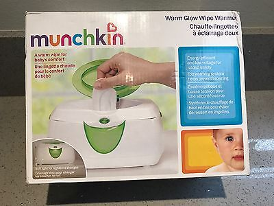 Munchkin Warm Glow Wipe Warmer NEW Free Shipping!