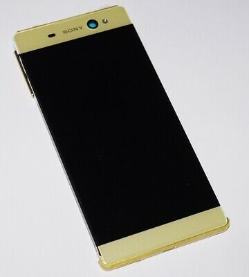 Original Sony Xperia XA Ultra F3216 LCD Display Touchscreen Frame Cover Gold
