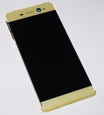 Original Sony Xperia Xa Ultra F3213 LCD Display Touchscreen Frame Cover Gold