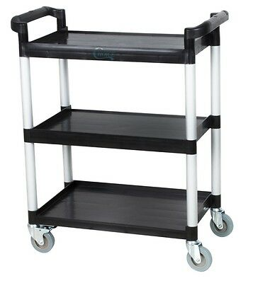 Utility Cart With Wheels Restaurant Bus Carts NEW Cleaning Supply Multi Purpose