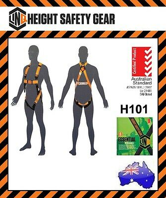 LINQ Pro Choice Roofers Essential Full Body Safety Harness (H101) Aust Standards