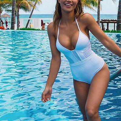 Women Swimsuit Swimwear Monokini Push Up Bikini Bandage Bathing Suit Beachwear