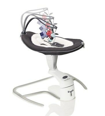 Babymoov Swoon Motion Baby Swing / Rocker / Bouncer Suitable From Birth - Zinc