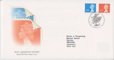 Gb Royal Mail Fdc First Day Cover 1997 Machin Definitives Self-Adhesive  Bureau