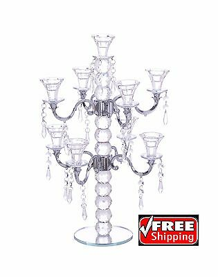Huntington Crystal Candelabra Taper 9 X Candle Holder