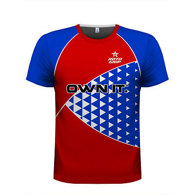 "Roto Grip ""OWN IT"" Bowling Jersey - Brand New & In Stock - Size Large"