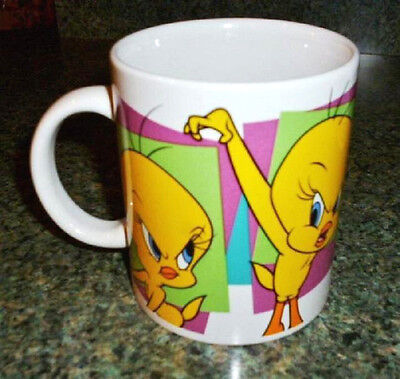 TWEETY BIRD Ceramic Mug Cup - Looney Tunes - Warner Bros - Six Flags