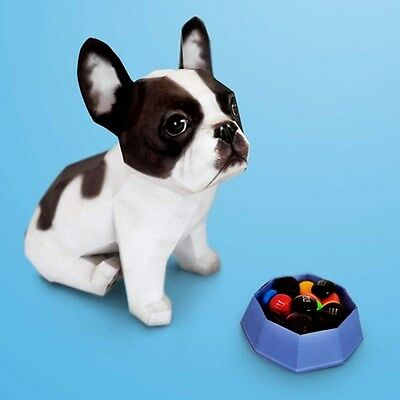 [Happypaper] Pet Series French Bulldog Papertoy Paper Hobby