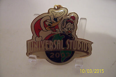 Woody Woodpecker Chilly Willy 2003 Universal Studios Christmas Ornament