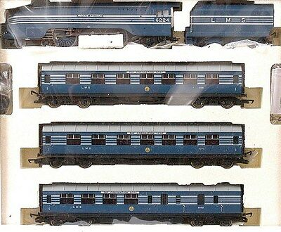 HORNBY R2371M LMS 'CORONATION SCOT' TRAIN PACK, Ltd Ed, Certificate No.1500/1500
