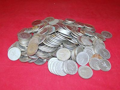 Lot of 15 Coins - 250 Pruta 1949 Israel Palestine Mix Collection PRUTAH