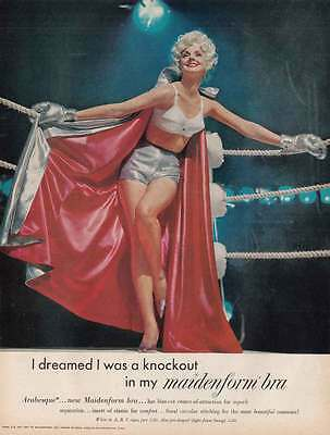 1961 Maidenform Bra: I Dreamed I Was a Knock Out (21879)
