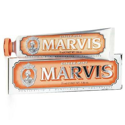 Marvis - Dentifricio Ginger Mint 75ml PASTA Dentifricia Toothpaste