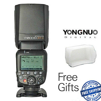 Yongnuo YN600EX-RT II TTL Wireless Flash Speedlite for Canon 650D 60D YNE3-RT UK