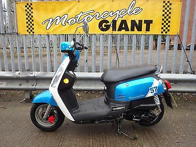 Sym Tonik 50cc auto  only 500 miles, cute, small with low seat height