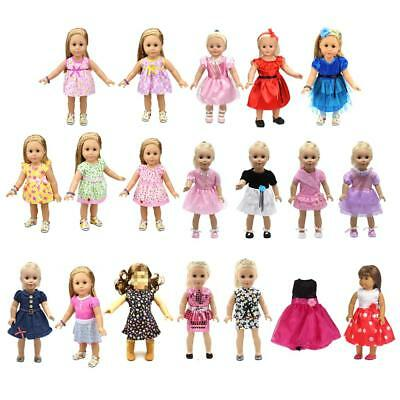 Fashion Doll Party Clothes Dress Outfit Fit for 18'' American Girl AG Doll ACCS