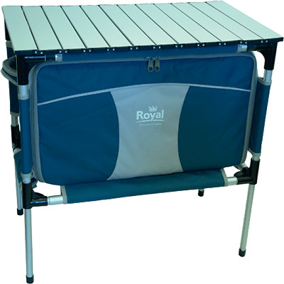 Royal Easy Up Folding Portable Storage Unit with 4 Drawers   Camping & Outdoors